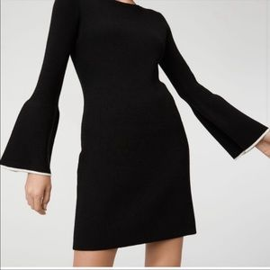 Club Monaco Wioletta Black Dress